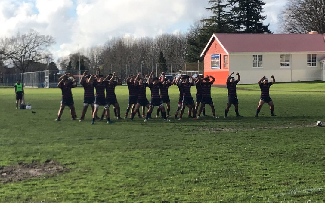 Warwick 1st XV vs Rotorua Boys High School